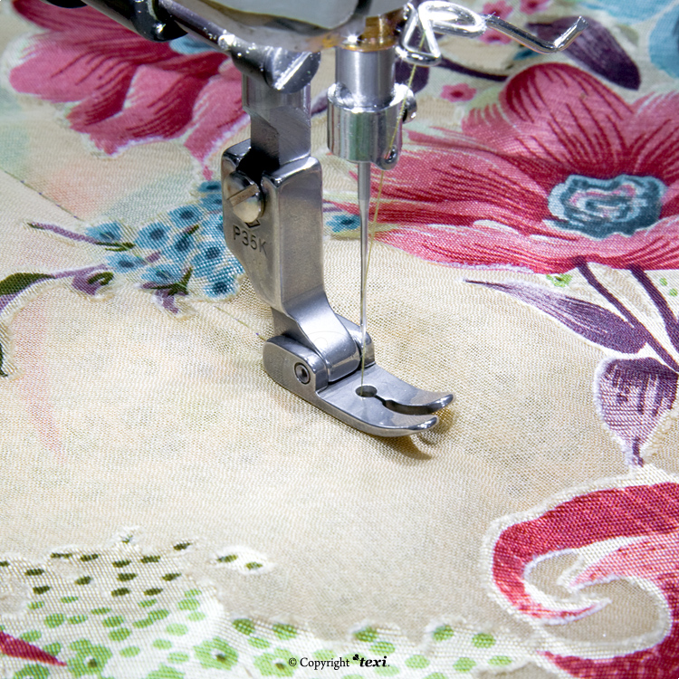 Foot for fine fabrics