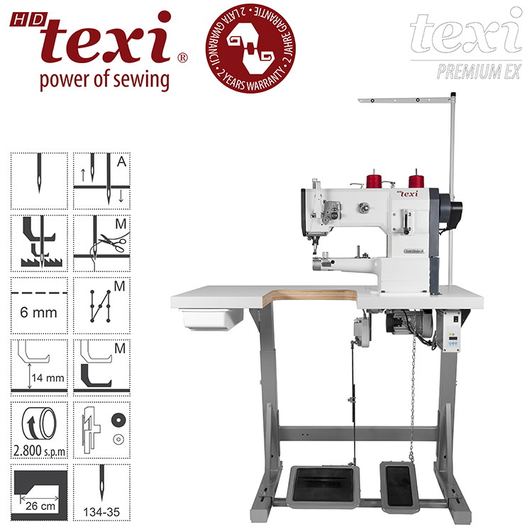 TEXI - Culture of Sewing - TEXI HD FORTE CILINDRO-B UF