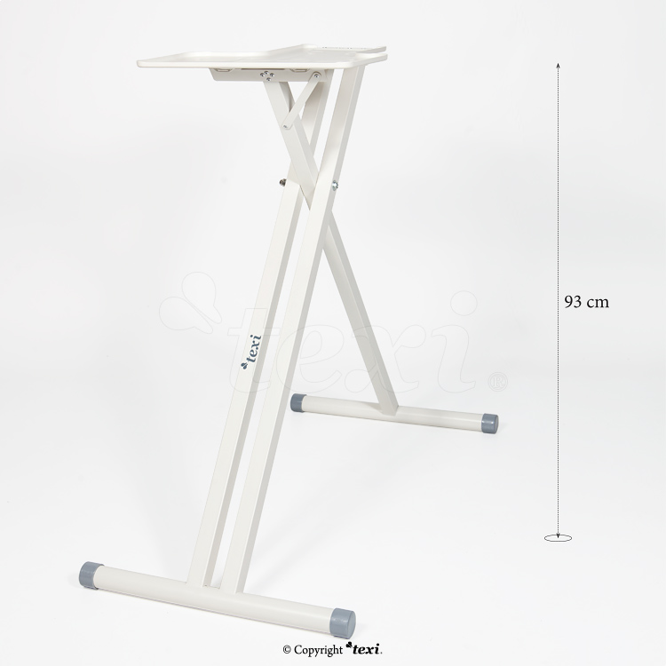 Apollo steam press stand, height 93 cms
