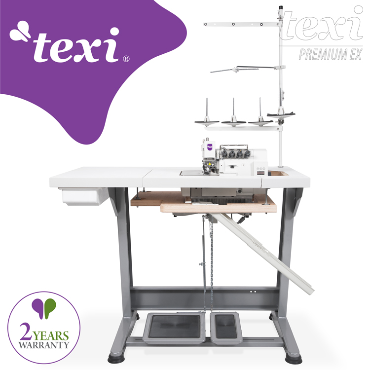 5-thread, mechatronic overlock machine with needles positioning - complete machine - 2 years warranty