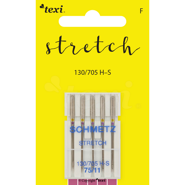 Stretch needles for household machines, 5 pcs, size 75
